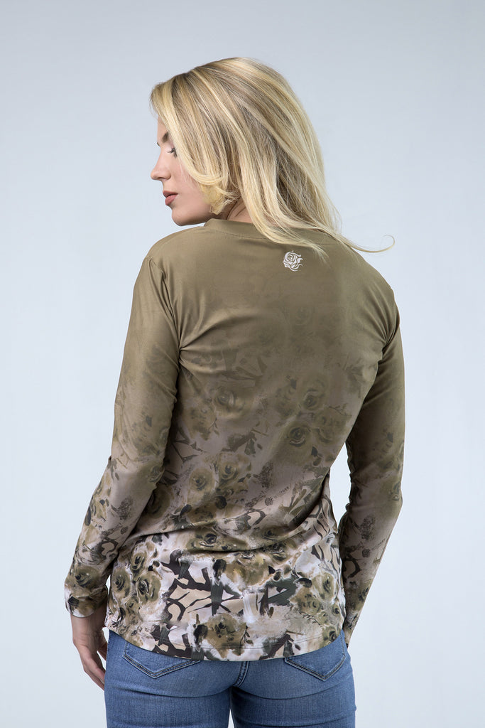 Fade to Green Wild Rose Camo