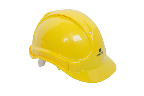 kids yellow hard hat