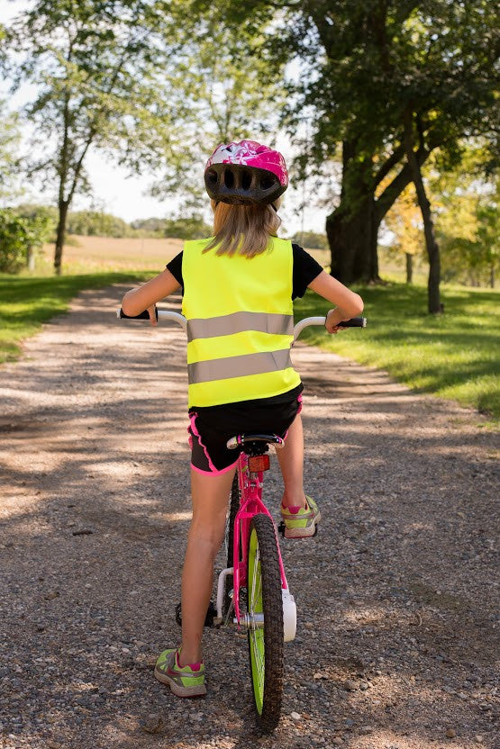 kids reflective safety vest
