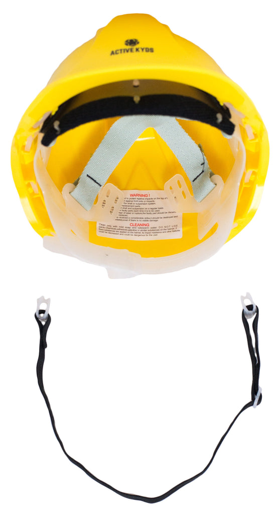 kids construction costume hat