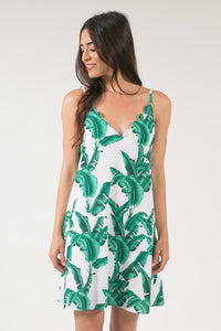 """Be the breeze"" V-Neck Dress"