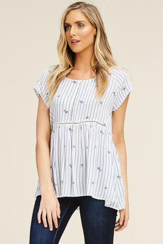 """Kelly"" Babydoll Top"