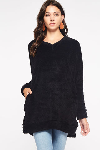 """Sherry's"" Sherpa Tunic"