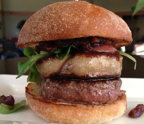 Slider Bundle: Wagyu, Foie Gras and Duck Bacon