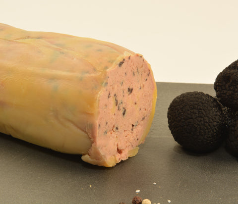 French-Style Torchon of Foie Gras with Black Truffles, 1.3 lb