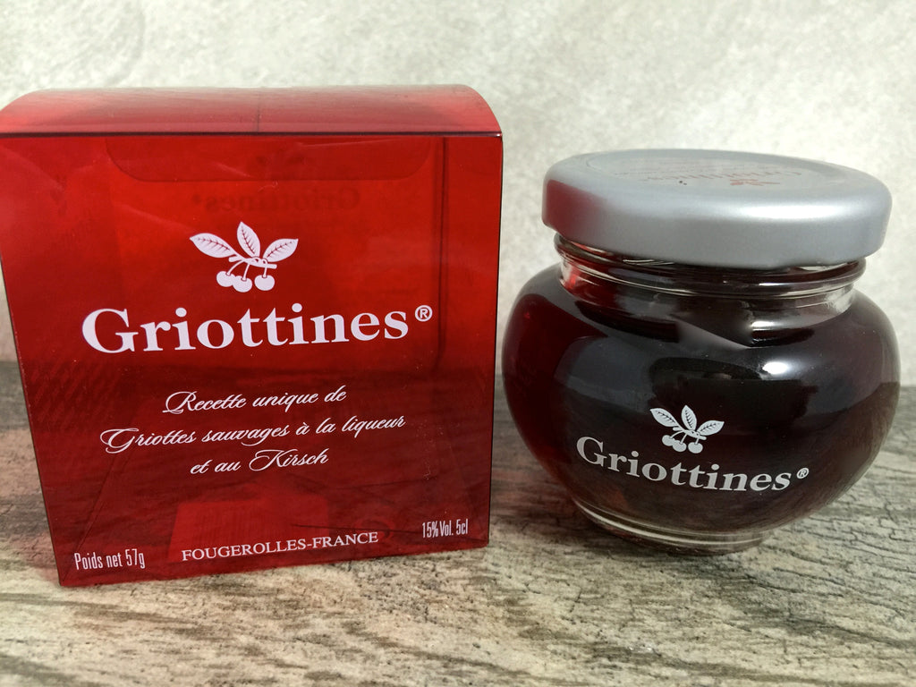 Griottines Morello Cherries in Liqueur and Kirsch