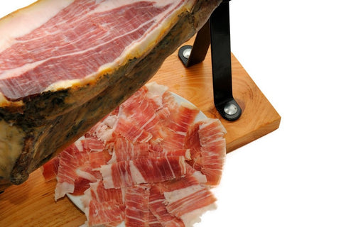 5J Cinco Jotas Iberico Ham, Hand Sliced