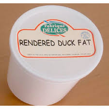 Rendered Duck Fat, two 2lb tubs