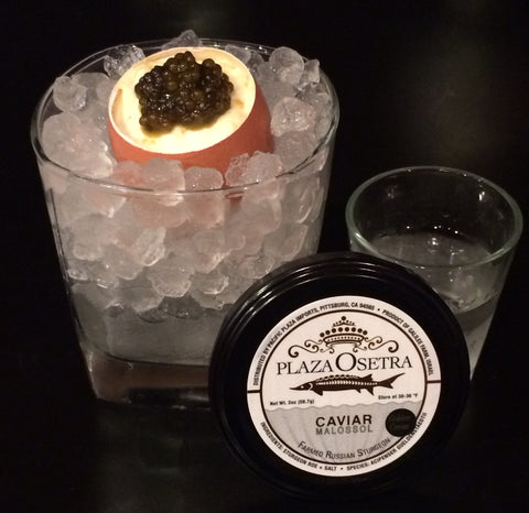 Plaza Golden Russian Osetra Caviar