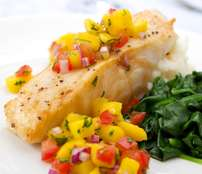 Chilean Sea Bass, 6 oz Center Cut Filets, Skin Removed