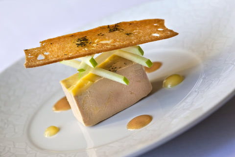 French Style Foie Gras Terrine