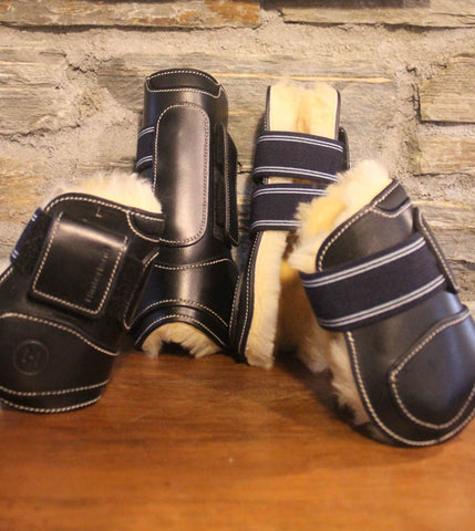 Bootilicious Sheepskin Lined Front Boots