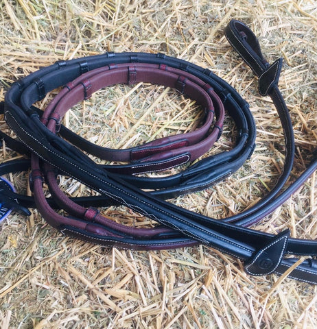 Gel Grip Rubber Notched Reins