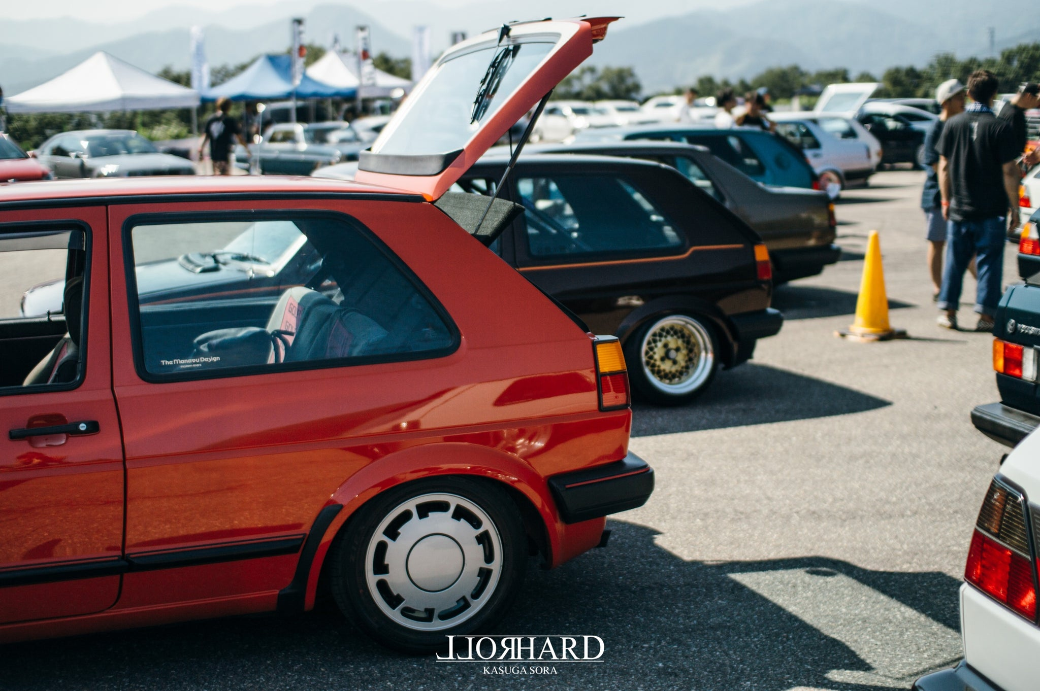 "RollHard Event Coverage - Wreckin' Meet 2018. Nanto-shi, Toyama, Japan. JDM, BBS RS, Schimdt TH, Euro style, Volkswagen, modified cars, japanese tuning scene"" />"