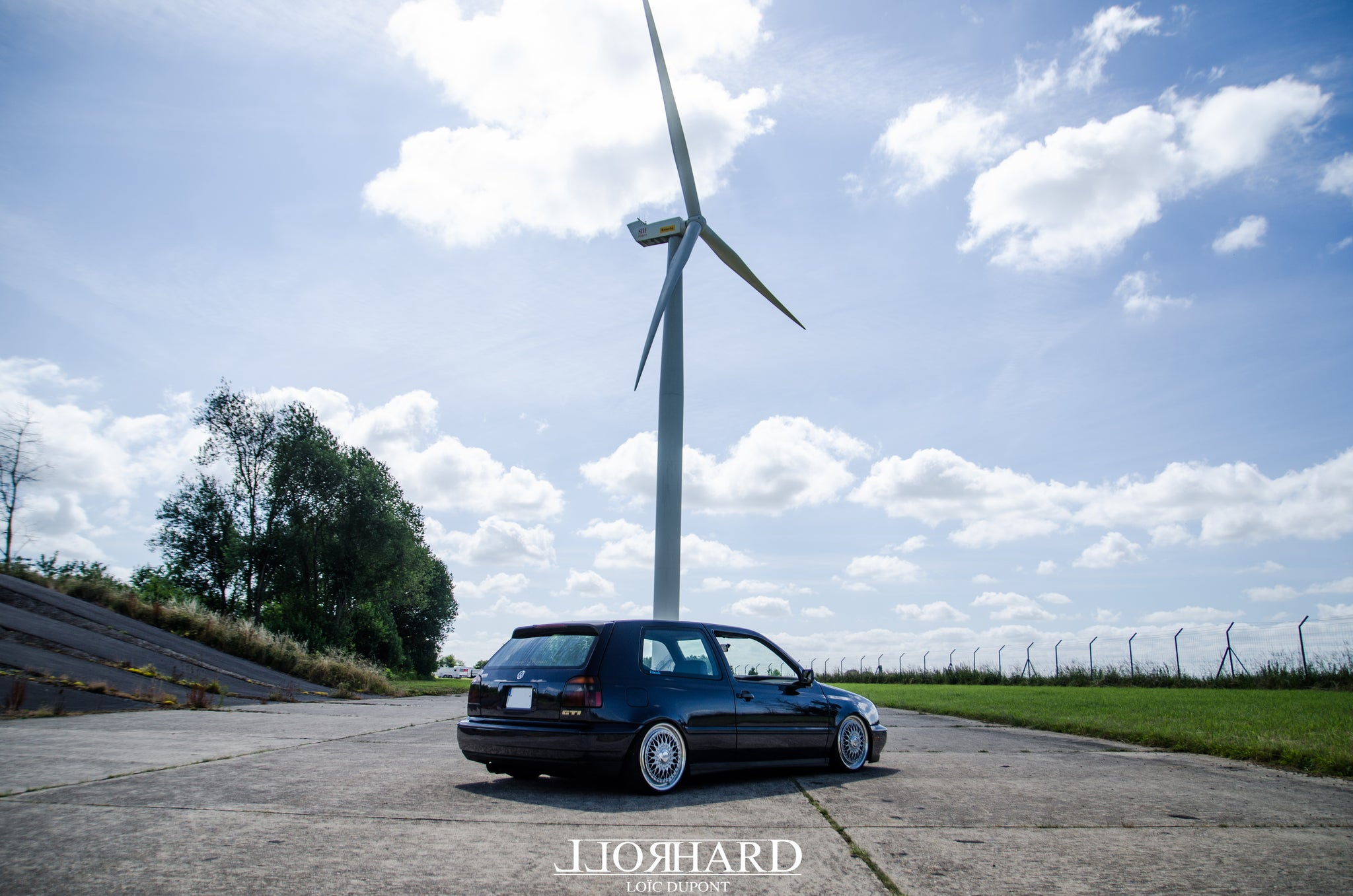 "RollHard Feature - 1994 Volkswagen Golf GTI VR6 USDM. modified Volkswagen, Windsor Blue, Recaro Expert, BBS RS264 RS265 5x114 17"" BBS Golf 3, Aron Norris, Guigui ""Guigui Bless"" Guillaume, Tokan Photography, Loic Dupont"
