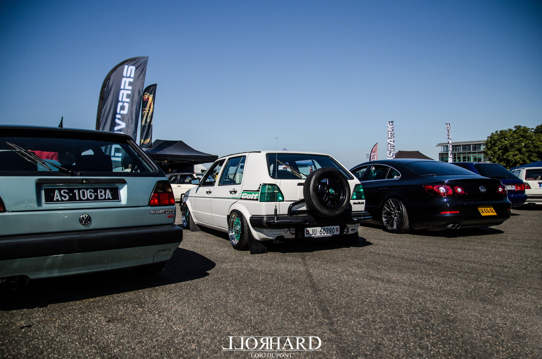 RollHard Show Coverage, Tokan Photography, VW School event, Magny Cours, France, French car scene, volkswagens, custom, modified cars, low cars, VWs, dubs, bbs, rotiform, airlift, stance, fitment, french modified cars