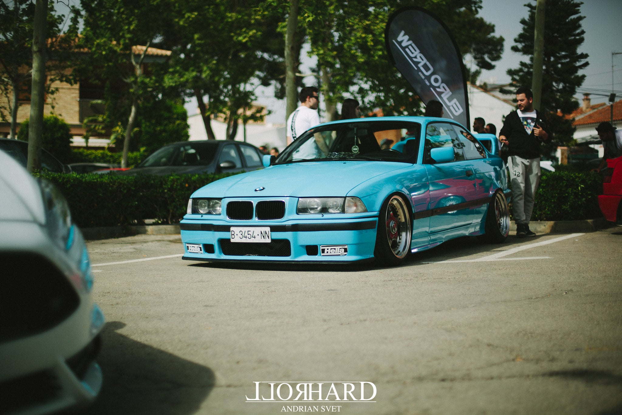 Eurocrew Valencia, Spain 2018. Event coverage RollHard show blog Spanish car culture, Euro cars, Spanish scene.
