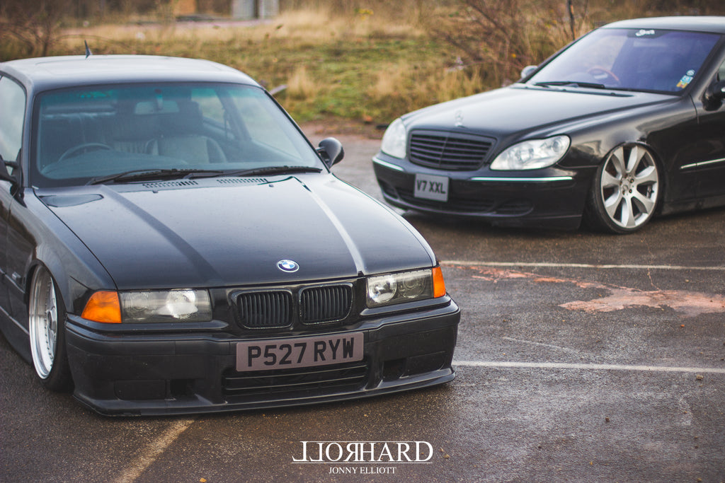 Mercedes S500 BMW E36 BBS RF Airlift suspension Air ride