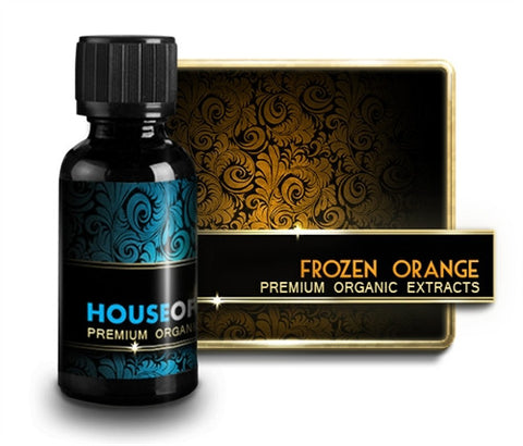 Frozen Orange - House Of Liquids E Liquid
