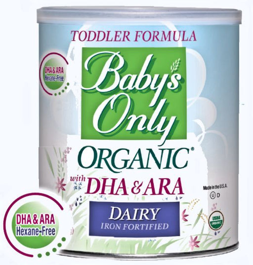 Baby's Only Organic Baby Dairy With Dha & Ara Iron Formula