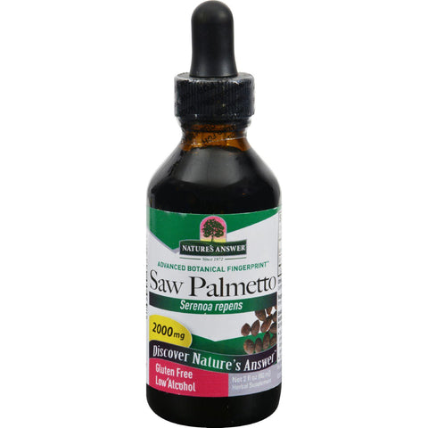 Nature's Answer Saw Palmetto Berry - 2 Fl Oz
