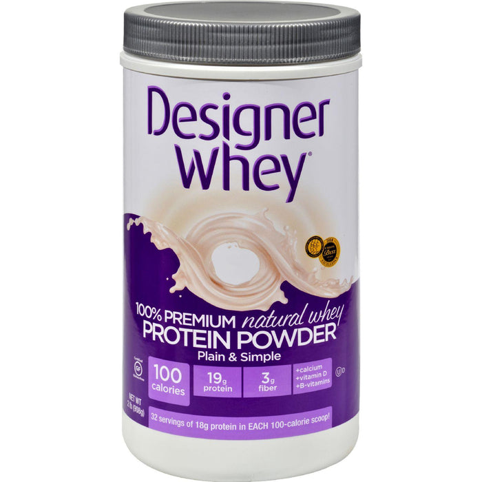 Designer Whey - Protein Powder - Natural - 2 Lbs