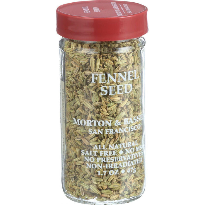 Morton And Bassett Seasoning - Fennel Seed - 1.9 Oz - Case Of 3