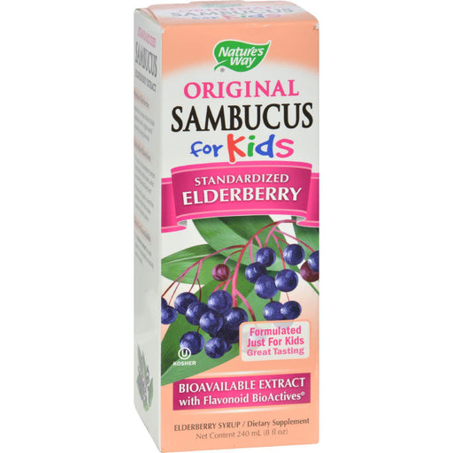 Nature's Way - Original Sambucus For Kids - Standardized