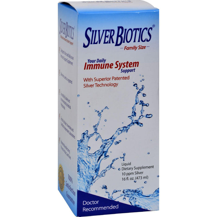 American Biotech Labs - Silver Biotics Your Daily Immune System Support - 16 Fl Oz
