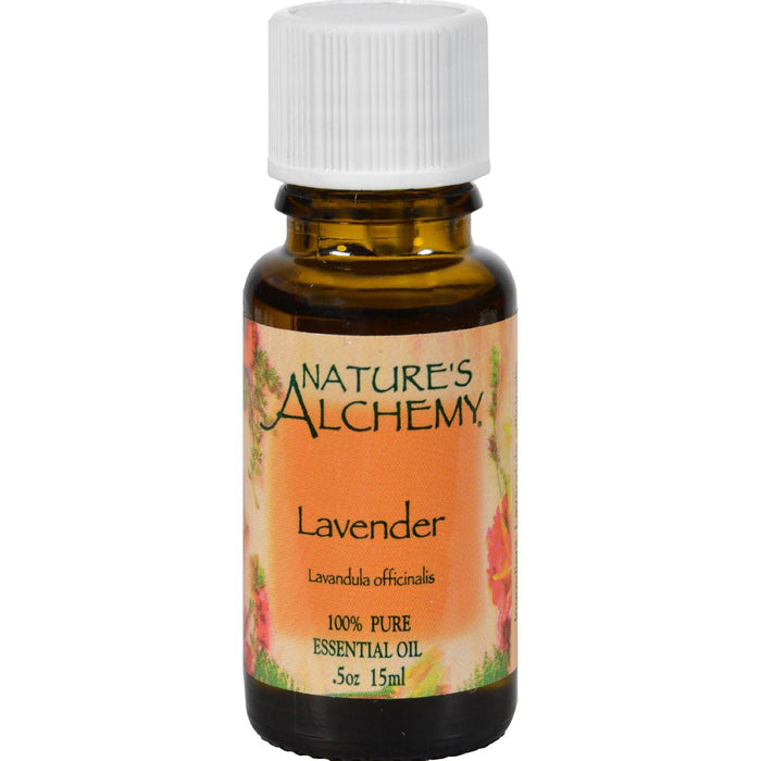Nature's Alchemy 100% Pure Essential Oil Lavender - 0.5 Fl Oz