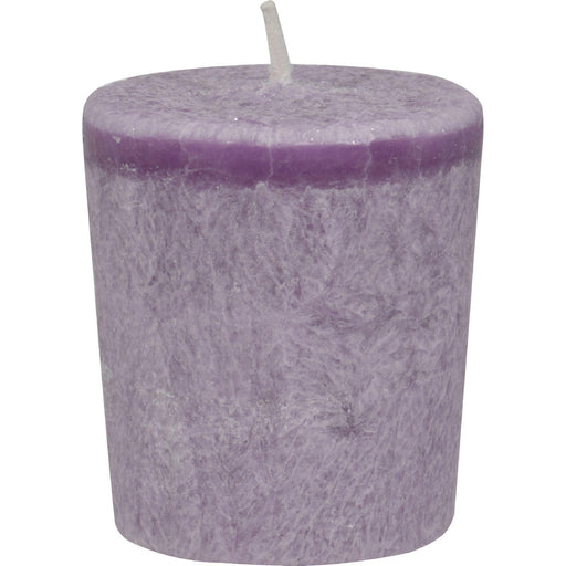 Aloha Bay - Votive Eco Palm Wax Candle - Lavender Hills -