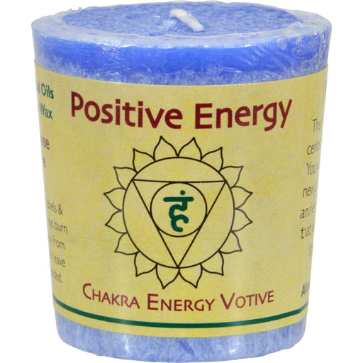 Aloha Bay - Chakra Votive Candle - Positive Energy - Case Of
