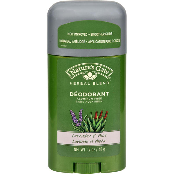 Nature's Gate Organics Deodorant - Lavender And Aloe - 1.7 Oz