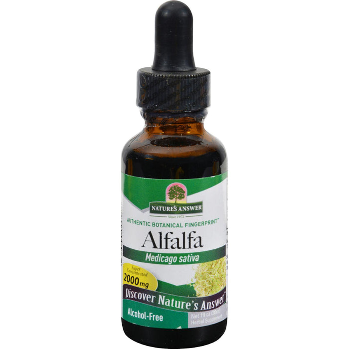 Nature's Answer - Alfalfa Herb - 1 Fl Oz