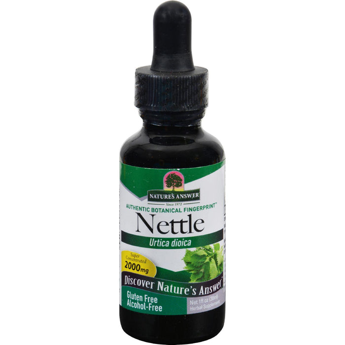 Nature's Answer - Nettle Leaf Alcohol Free - 1 Fl Oz