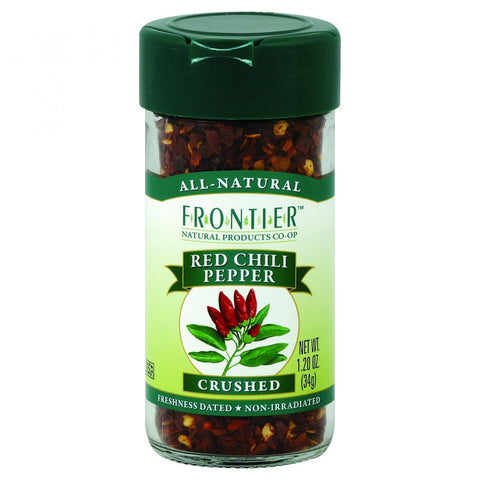 Frontier Herb Red Chili Peppers - Crushed - 1.2 Oz