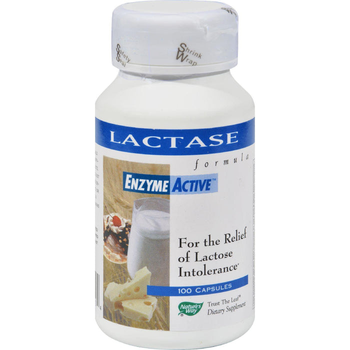 Nature's Way - Lactase Formula - 100 Capsules