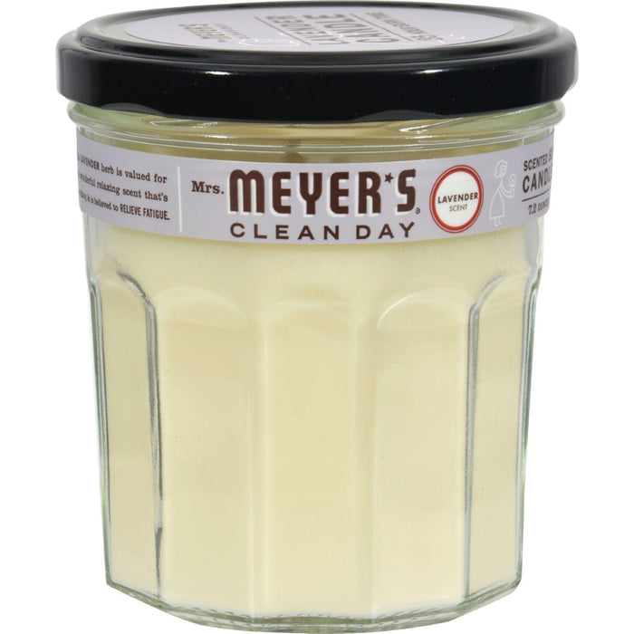Mrs. Meyer's Clean Day - Soy Candle - Lavender - Case Of 6 -