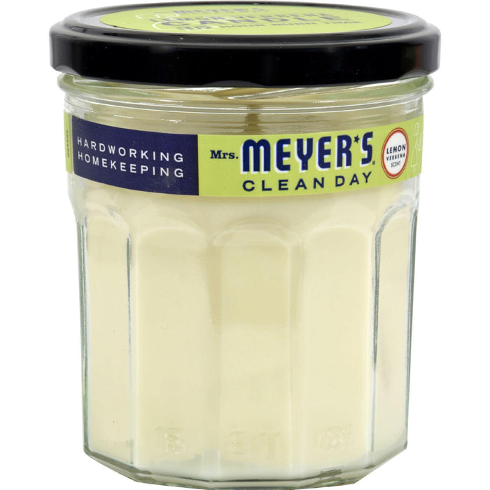 Mrs. Meyer's Clean Day - Soy Candle - Lemon Verbena - Case
