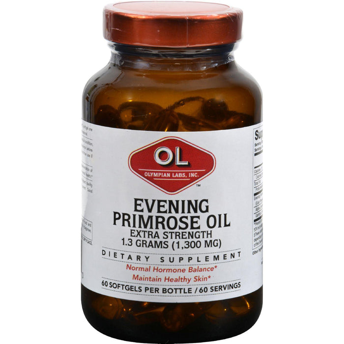 Olympian Labs Evening Primrose Oil - Extra Strength - 1300