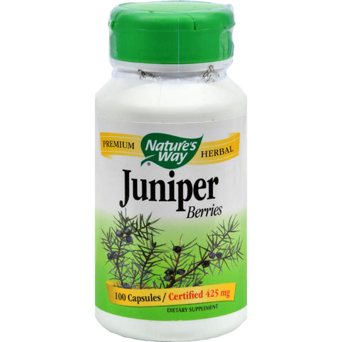 Nature's Way Juniper Berries - 100 Capsules