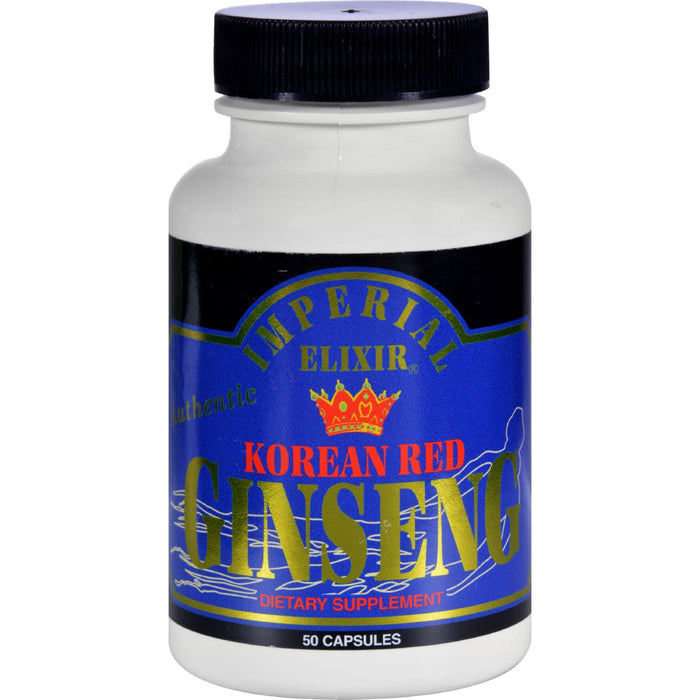 Imperial Elixir Ginseng Korean Red - 50 Caps
