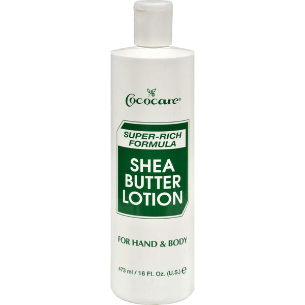 Cococare Shea Butter Super-rich Formula Lotion - 16 Fl Oz