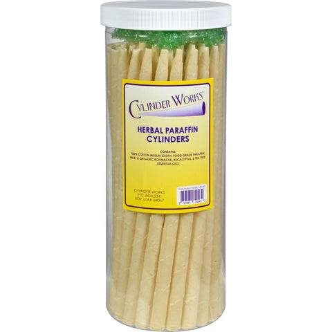 Cylinder Works Paraffin Candles - Herbal - 50 Pack