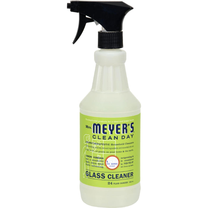 Mrs. Meyer's Clean Day - Glass Cleaner - Lemon Verbena - Case Of 6 - 24 Oz