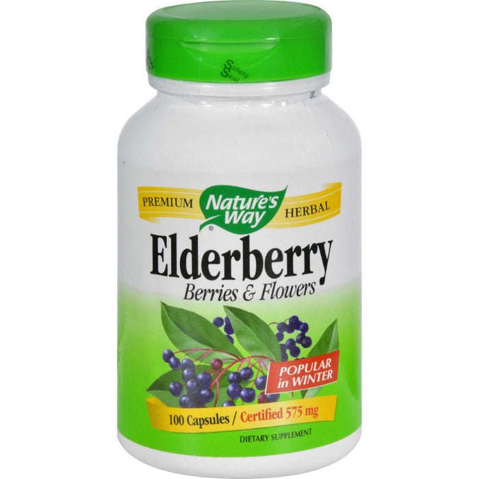 Nature's Way - Black Elderberry - 100 Capsules
