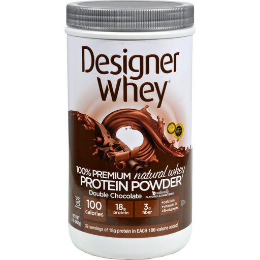 Designer Whey - Protein Powder - Double Chocolate - 2.1 Lbs