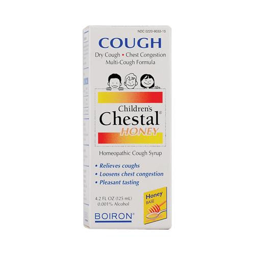 Boiron Children's Chestal Cough Syrup Honey - 4.2 Fl Oz - evoxMarket