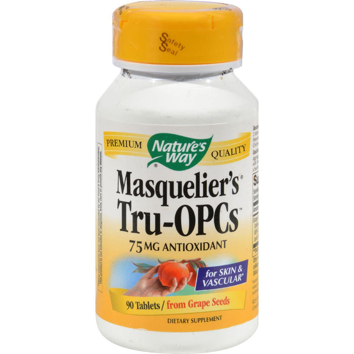 Nature's Way - Masquelier's Tru-opcs - 75 Mg - 90 Tablets