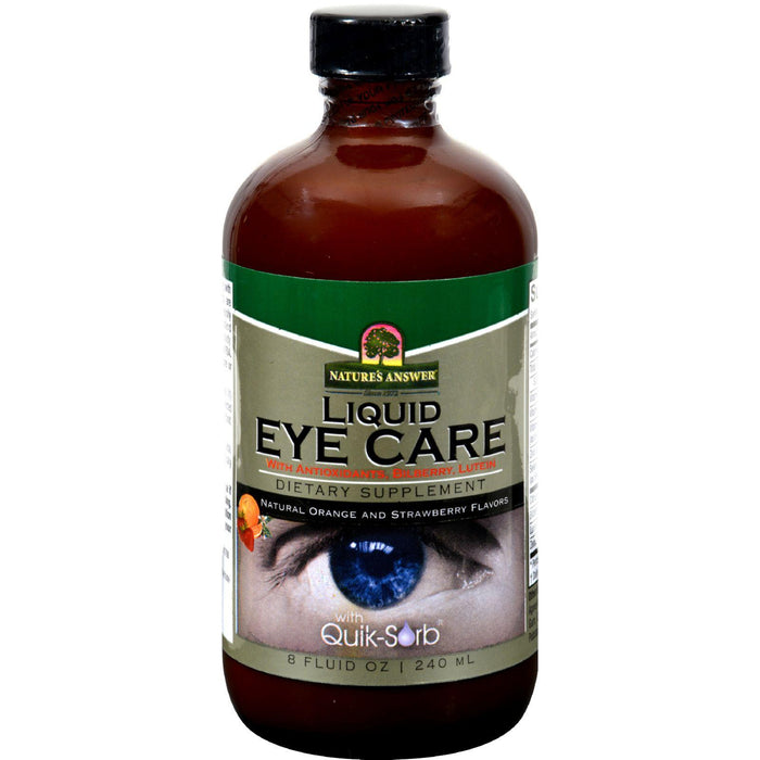 Nature's Answer - Liquid Eye Care - 8 Fl Oz